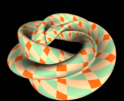 Twisted Torus by MathMod