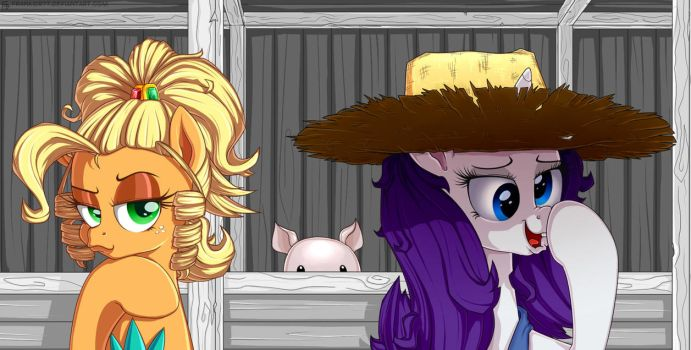 [My Little Pony] Role Swap by Frank-Seven
