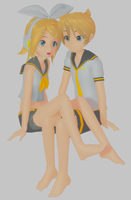 .:Len and Rin:. by Moto-P