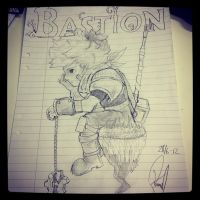 Bastion - The Kid by Utherdoll