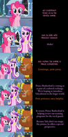 Pinkie Pie Goodnight: Cultural Exchange by MLP-Silver-Quill