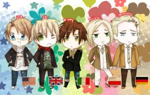Heritage .:Hetalia:. by YuriThorns