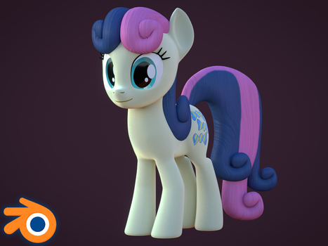 [Blender Release] Sweetie Drops [Bon Bon] by MythicSpeed