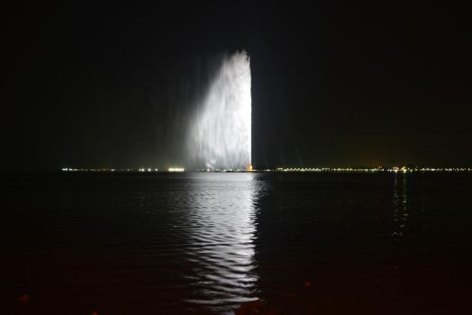 Jeddah fountain by hamadahere