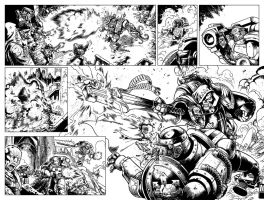 Warhammer 40'000 preview inks 2 by Spacefriend-T