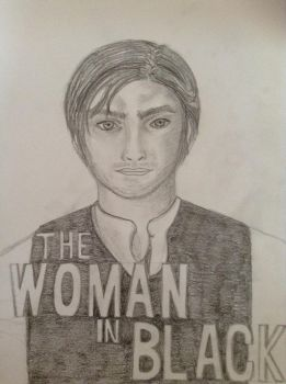 The woman in black DVD cover by rocklovingwolf100