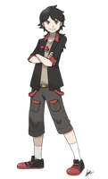 + Male Pkmn Trainer - Commission for ScattyStorm + by KyseL