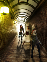Secret Tunnels  - a Red Warriors illustration by SybilThorn