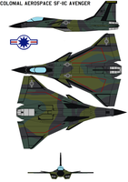 Colonial Aerospace SF-11C Avenger forest by bagera3005