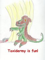 Taxidermy is Fun by Traxer