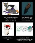 COMMISSIONS OPEN-- PRICE GUIDE by TangerineVampire