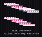 FREE DOWNLOAD - Valentines Patterns 02 by PointyHat