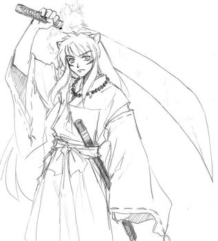 Inuyasha-the demon in me by majochan