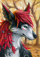 ACEO for Eleweth by Dragarta