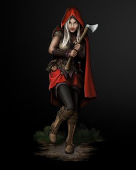 Red Riding Hood - 3 by KevinFurr