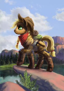 Equestrian Frontier by MissingMonsters