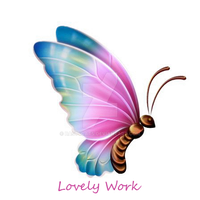 Pastel Butterfly LW by bast4cats